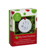 Blossoms and Buds My First Christmas Baby Clay Imprint Ornament Kit