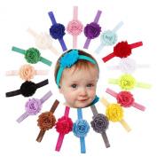 18PCS Babys Girls Photography Flower Headband Headbands