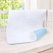 T-Trees Premium Quality Bed Pad, Quilted, Waterproof, and Washable , 140cm x 90cm The Best Underpad Sheet Protector for Children or Adults with Incontinence