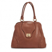 Newlie Gail Satchel Nappy Bag in Sandalwood