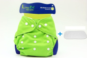LINGZHI Adjustable Softcare 100% Cotton Baby Cloth Nappies Nappy Reusable