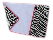 aBaby Changing Pad Mat, Zebra/Hot Pink