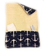 aBaby Changing Pad Mat, Anchor Navy