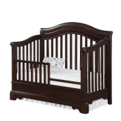 Bertini Castlebrook Toddler Guard Rail - Espresso [Crib Not Included]