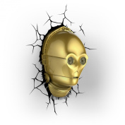 Star Wars C-3PO 3D LED Wall Light