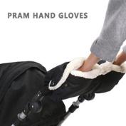 Lopkey Brand Kids Baby Pram Stroller Accessory Hand Muff Waterproof Gloves Warmer Winter Gift