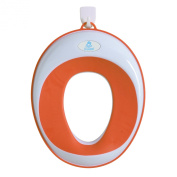 Lil' Jumbl Toilet Seat Ring for Potty Training - Orange