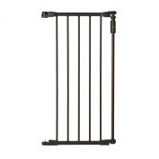 North States Supergate Deluxe Decor 38cm gate extension, Matte Bronze
