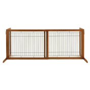 Large Bay Isle Freestanding Pet Gate - Tall