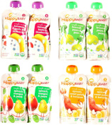Happy Baby Organic Baby Food Stage 2 Variety Bundle
