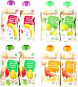 Happy Baby Organic Baby Food Stage 2 Variety Bundle
