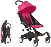 Babyzen YOYO Stroller - White - Pink by Baby Zen
