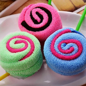 New Cute Lollipop Washcloth Bridal Baby Shower Wedding Party Favour Small Towel
