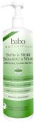 Babo Botanicals Swim and Sport Shampoo and Body Wash - Cucumber Aloe Vera - 950ml