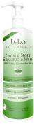 Babo Botanicals Swim and Sport Shampoo and Body Wash - Cucumber Aloe Vera - 950ml