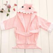 Bhbuy 0-24m Hotsale Cartoon Animal Shark Style Baby Kid Child Bathrobes Bath Towel