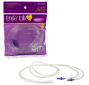 Medela Compatible Breast Pump Tubing - Tender Tubes ( 2 Tubes in one package) - For Pump in Style Original and Advanced Breast Pump - BPA Free, 110cm