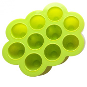 Homemade Baby Food Storage - BPA Free Silicone Freezer Tray with Lid, Safe for Breastmilk Storage -__ Lifetime Guarantee