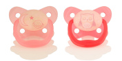 Dr. Brown's Glow in the Dark Pacifier, Stage 2/Pink