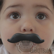 Moustache Pacifier for New borns, Infants, and Toddlers, Odourless, BPA,PVC, and Latex free, FDA approved silicone pacifier, funny pacifier, teething, soothie, baby pacifier, perfect gifts
