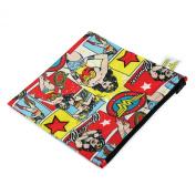 Bumkins Dc Comics Snack Bag, Wonder Woman Comic, Large
