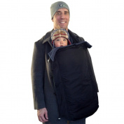 Coldsnap Coat-extension Baby Cover Keeps Baby and You Warm and Dry - clips onto any coat
