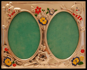 Silver Touch USA Sterling Silver Double Picture Frame, Silver