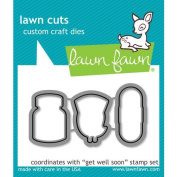LF683 Lawn Fawn Die Cuts - Get Well Soon