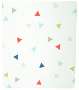 Kidsline Roadmap Fitted Sheet, Triangles