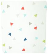 Kidsline Roadmap Fitted Sheet, Triangles