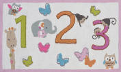 The Rug Market 123 Counting Children's Area Rug, 0.9m X 1.5m
