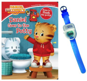 Daniel Goes to the Potty Book by Maggie Testa with Potty Watch