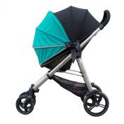 Olive + Oliver SimpleShade Universal Stroller Shade, Jade