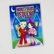 colour/ACTIVITY BOOK SPANISH GHOUL SCHOOL 96PG IN 24PC PDQ, Case Pack of 24