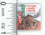 Dollhouse Miniature Popular Children's Moose Book by Cindi's Mini's