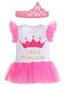 Ganz Baby Girl Newborn Little Princess Nappy Shirt Tutu with Headband