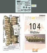Echelon Fine Decal 1:35 Das Reich SdKfz. 251/3 Ausf D in Normandy #D356045