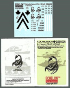 Echelon Fine Decal 1:35 Canadian Leopard C2A1 MEXAS Markings #D356006