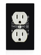 The World Is A Book Art Electrical Outlet Plate