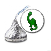 216 Dinosaur Labels/Stickers for Hershey's Kisses Candies - Party Favours