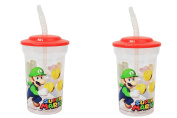 Nintendo Super Mario 470ml Reusable Cups 2pk.