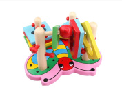 Children Baby 3d Game Carton Wood Puzzle Toy Building Blocks,early Educational Toys for Children