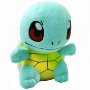 FSTY Pokemon Squirtle Rare Soft Plush Toy Doll 17cm Blue