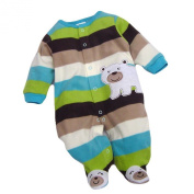Baby Winter Warm Hoodie Toddler Romper Outfit Cartoon Jumpsuit