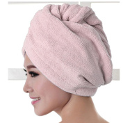 Ularmo® Magic Microfiber Bath Towel Hair Dry Hat Cap Quick Drying Lady Bath Tool