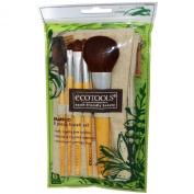 EcoTools Authentic Organic Natural Ecotools Bamboo Starter Makeup Brush Set