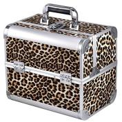 chinkyboo® Aluminium Beauty Box Make Up Vanity Case Cosmetic Nail Jewellery Case & Lock