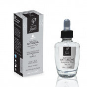 Anti Ageing Serum With Best Quality Vegan Hyaluronic Acid, Organic Beeswax & Vitamin C - By Fysio Natural Cosmetics - 30ml - For Face & Neck - Antioxidant Protection - Prevents And Reduce The Appearance Of Fine Lines And Wrinkles - Boosts Collagen Prod ..