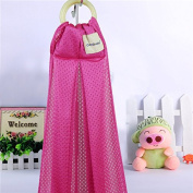 Baby Breathable Mesh Ring Sling Infant Carrier Pouch Wrap Newborn to Toddler