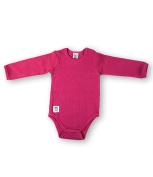 Pippi Unisex Baby Long Sleeve with Buttons O.Shoulder Bodysuit